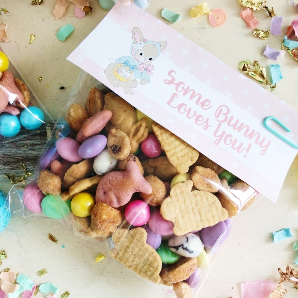 image relating to Bunny Bait Printable called Bunny Bait Path Combine Recipe! - Reside Lovable