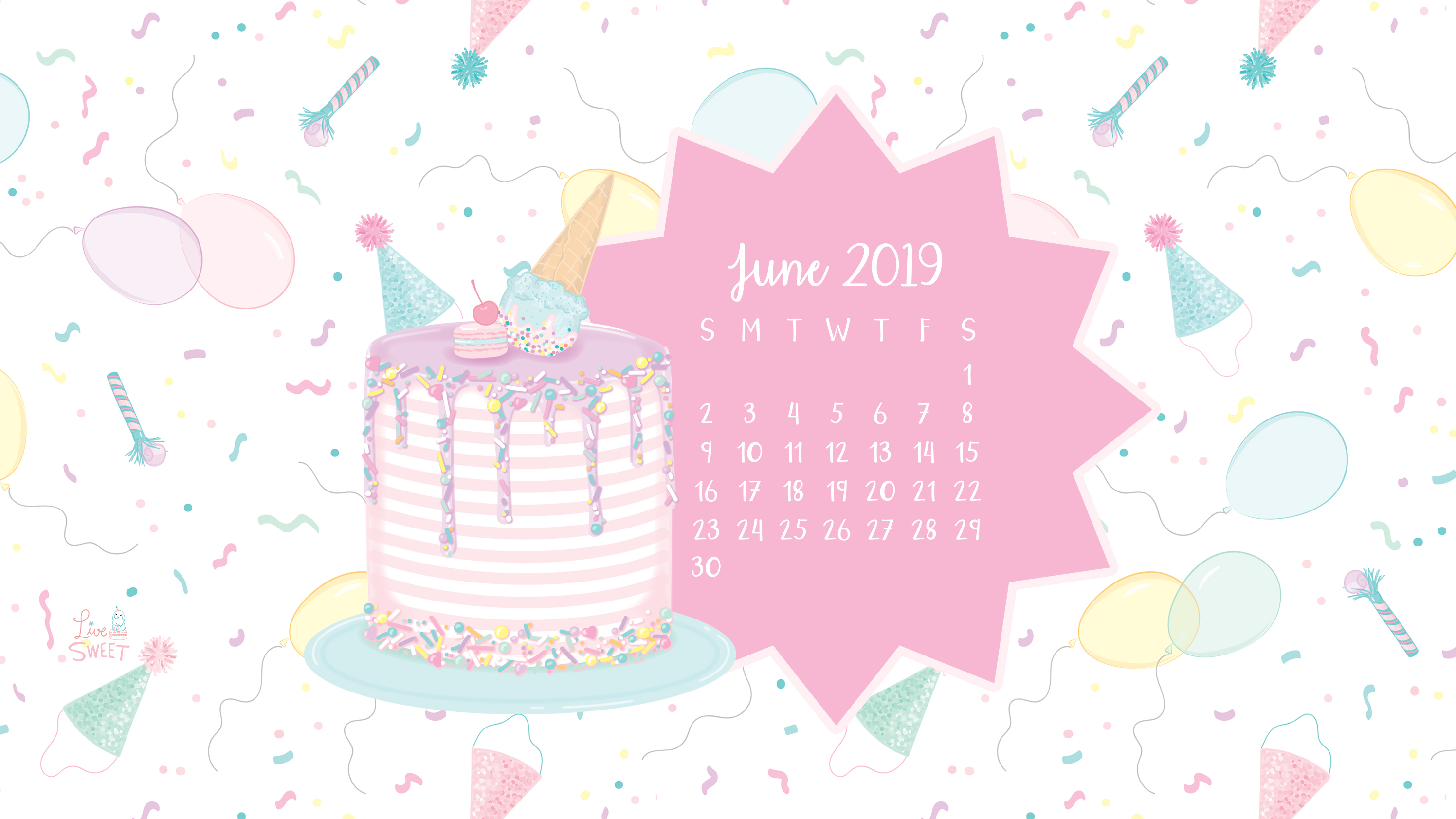 June 2019 Free Wallpapers Live Sweet