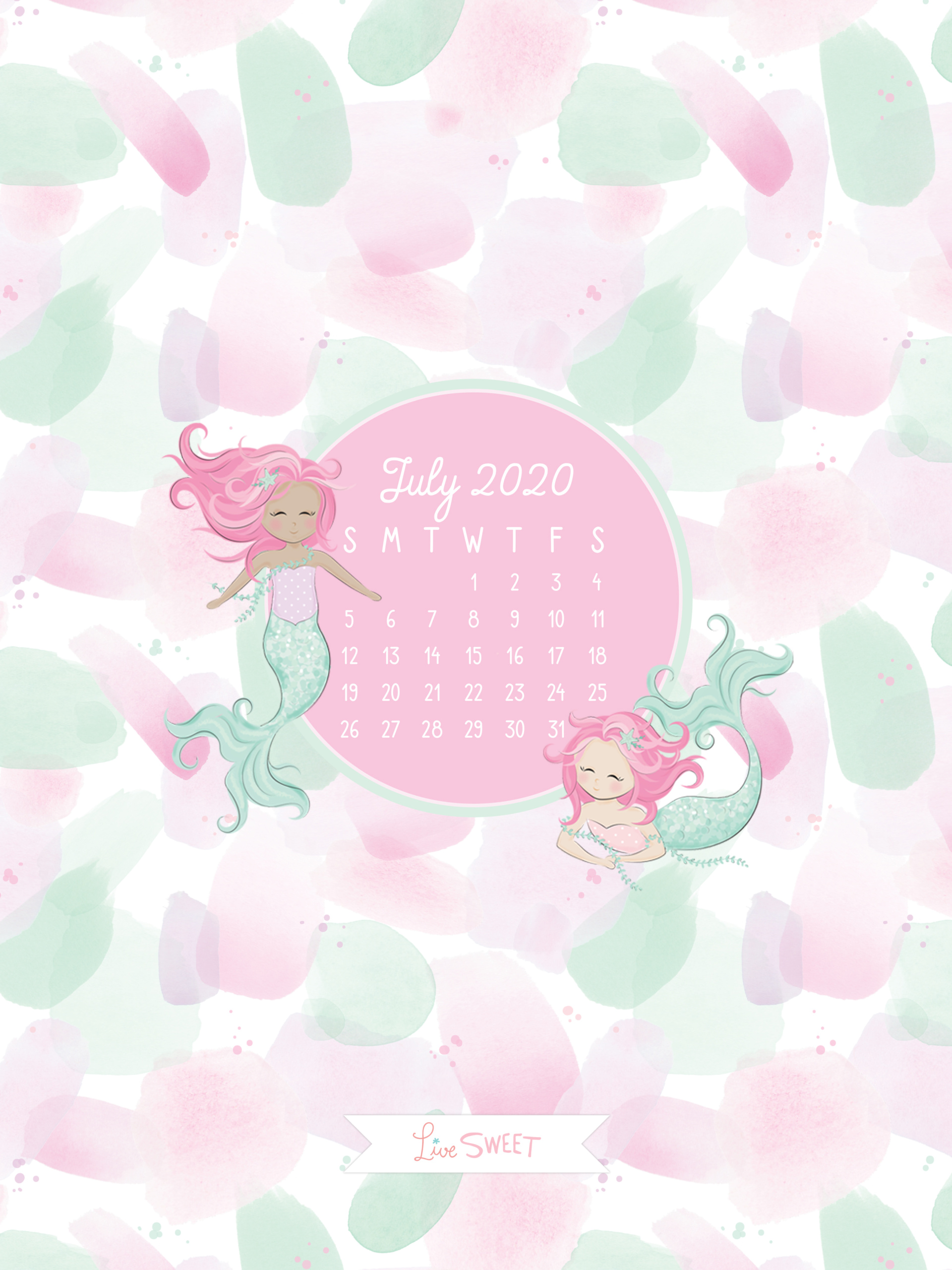 July 2020 Free Wallpapers Live Sweet